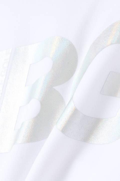 スパン×フィラメント ライトダンボールニット 半袖 スウェット クルーネック プルオーバー (WOMENS SPORT)