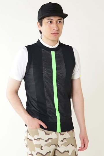 ADP/CREW NECK KNIT VEST