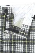 ラミネーション タータンチェック ジャガード 起毛 スカート (WOMENS METRO)