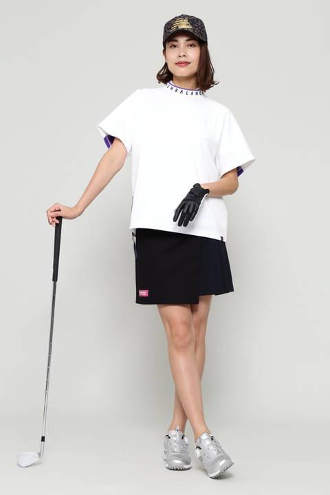 【直営店舗限定アイテム】 ストレッチサテンピーチ スカート (WOMENS advanced pac)