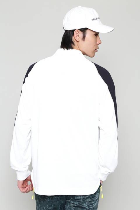 【直営店舗限定アイテム】 長袖 ポロシャツ (MENS advanced pac)