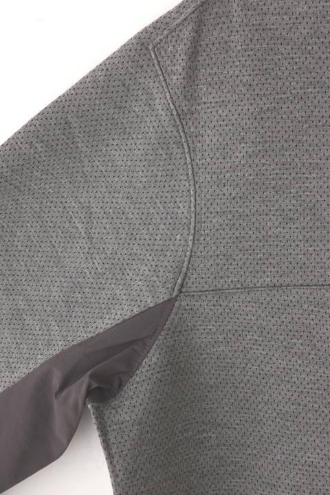 【直営店舗限定アイテム】ハイブリッド クルーネック プルオーバー (MENS advanced pac)
