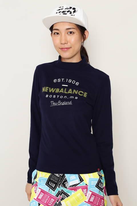 長袖 モックネック プルオーバー (WOMENS METRO)