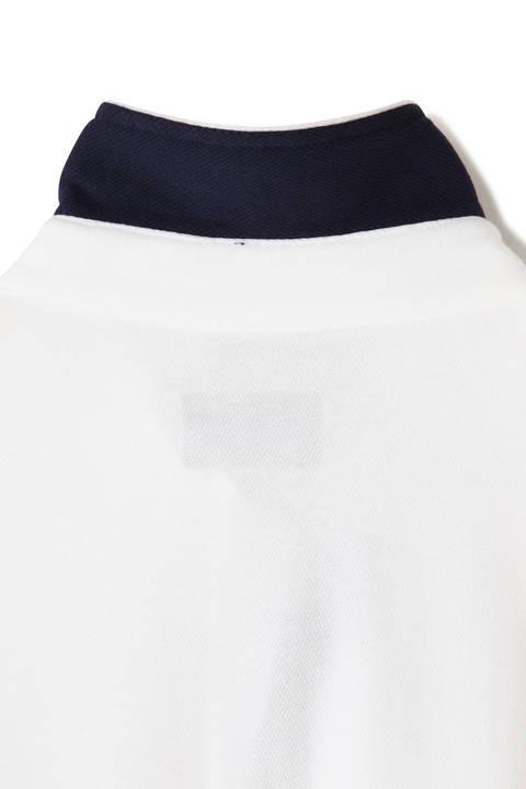 カノコ メッシュダブルフェイス 長袖 カラーシャツ (MENS METRO)