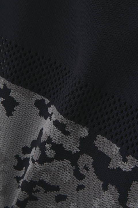 【直営店舗限定アイテム】 天竺×アイレット×プラクターンカモジャガード クルーネックニット (MENS advanced pac)