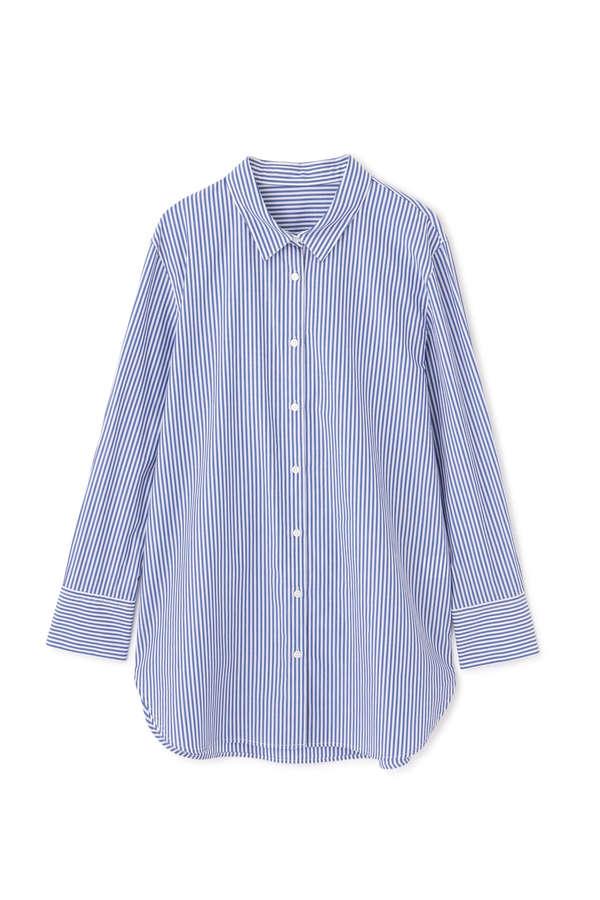 [洗える]チュニックシャツ