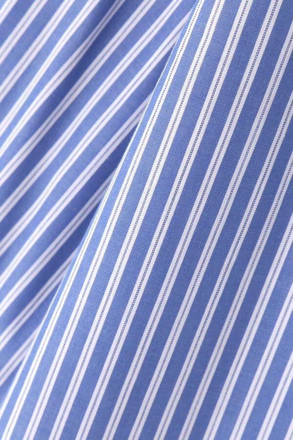 [洗える]スキッパーシャツ7分袖