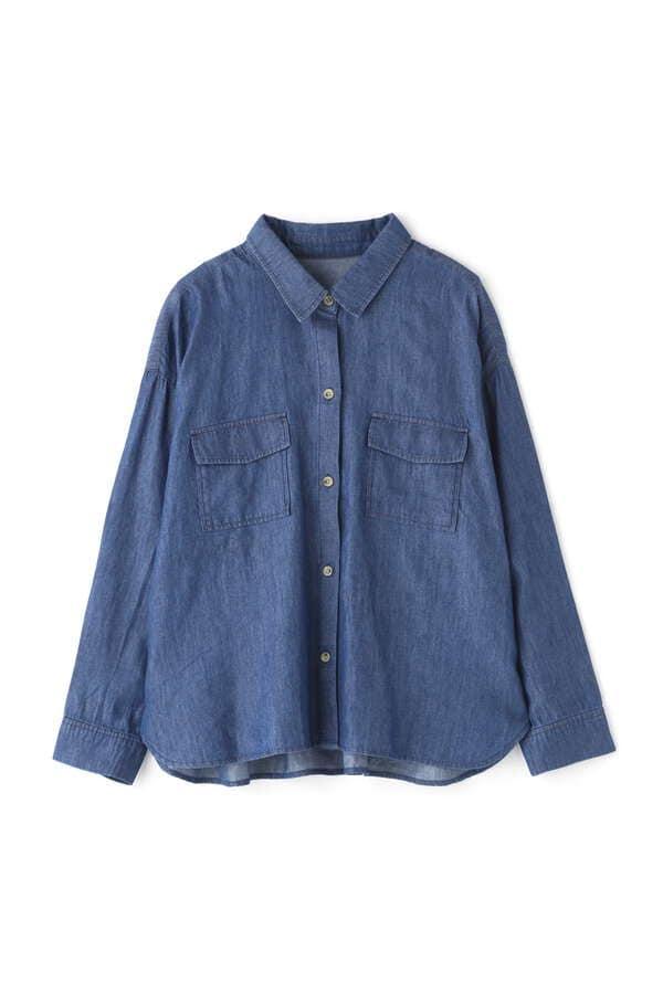 [洗える]フラップポケットシャツ