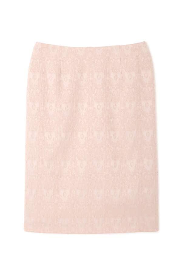 レースジャガードタイトスカート