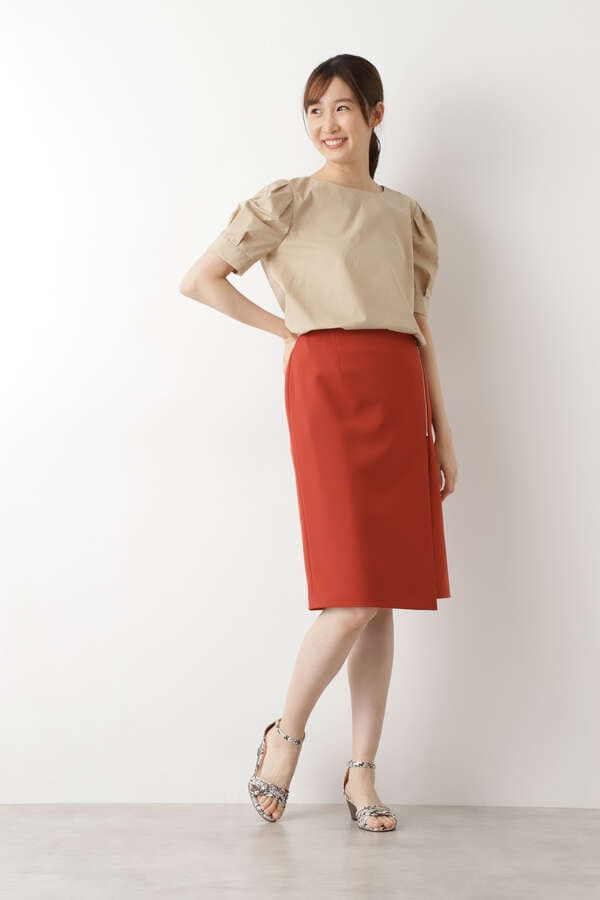 サイドZIPタイトスカート