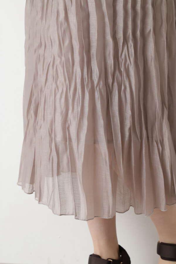 [洗える]ランダムプリーツスカート