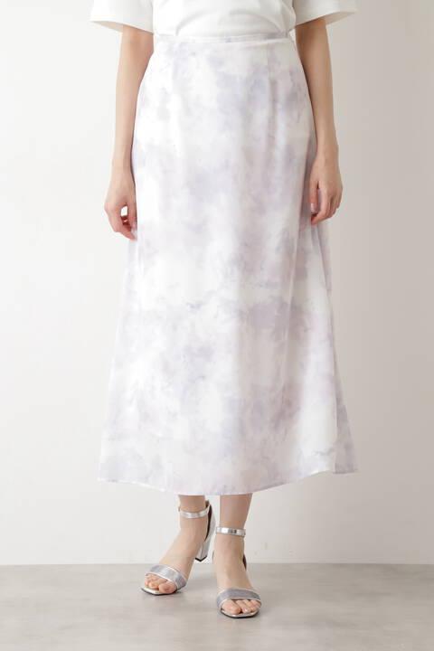 [洗える]タイダイプリントスカート