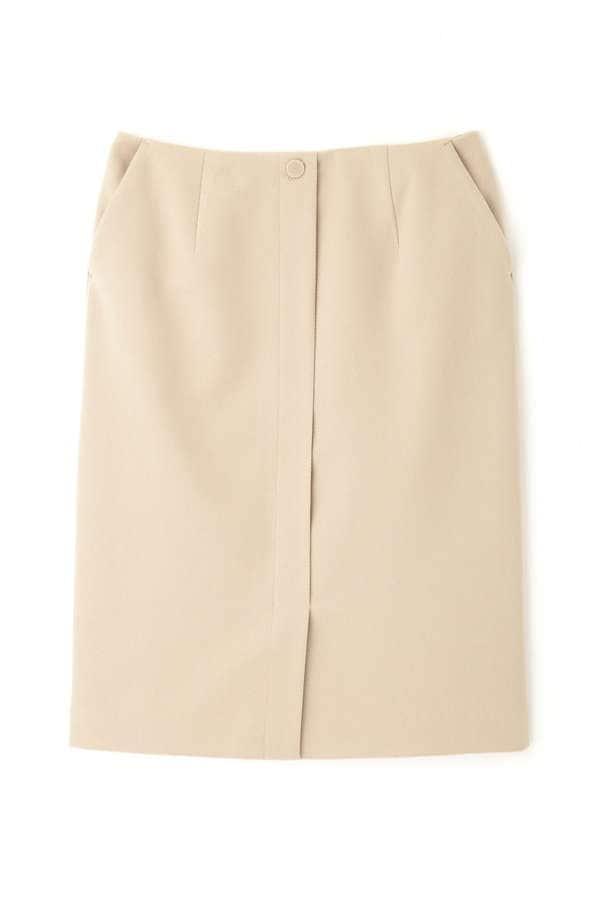[洗える]カルゼストレートスカート
