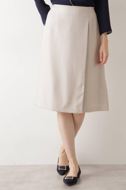 アシメタックフレアスカート