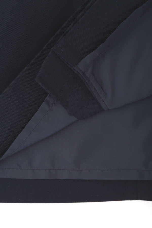 [洗える]メタルポイントストレートスカート