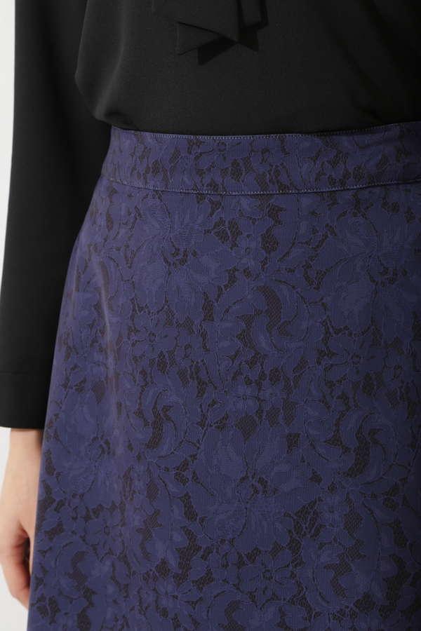[2WAY]レースプリントリバーシブルスカート