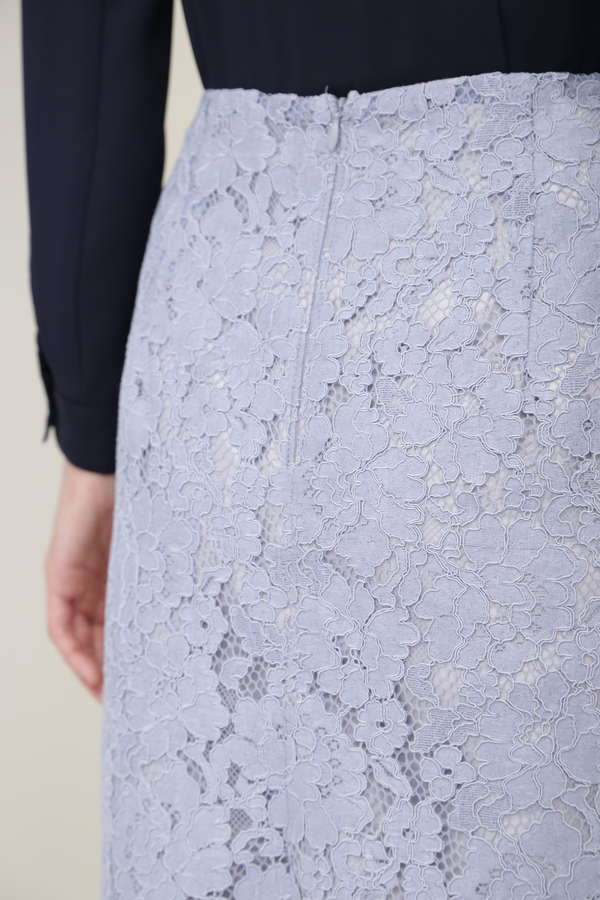 スカラレースタイトスカート