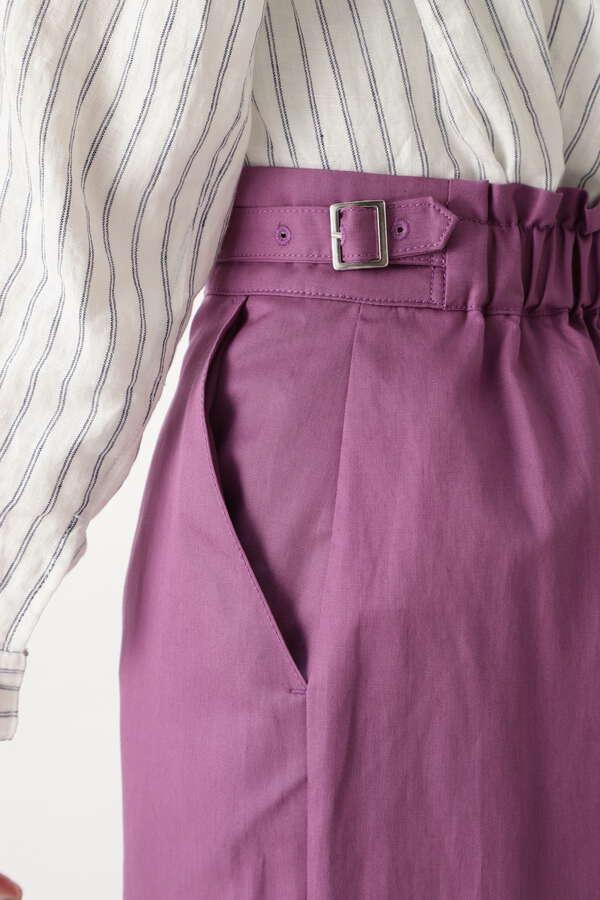 カラーストレートスカート