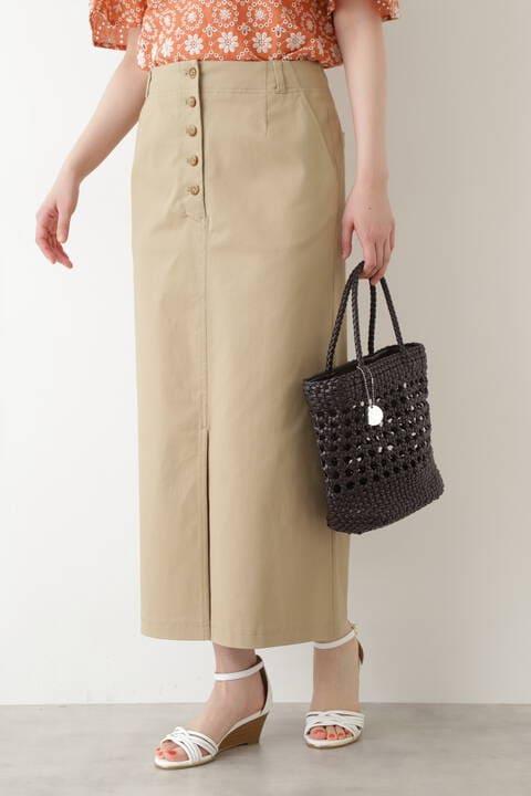 【先行予約5月上旬-中旬入荷予定】Aラインロングスカート