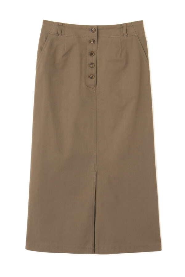 Aラインロングスカート