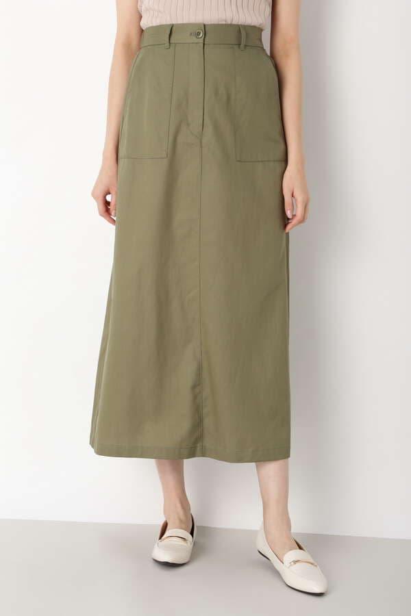 アウトポケットストレートスカート
