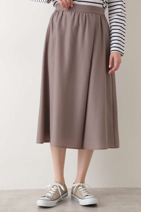 [WEB限定]フロントアシメスカーチョ