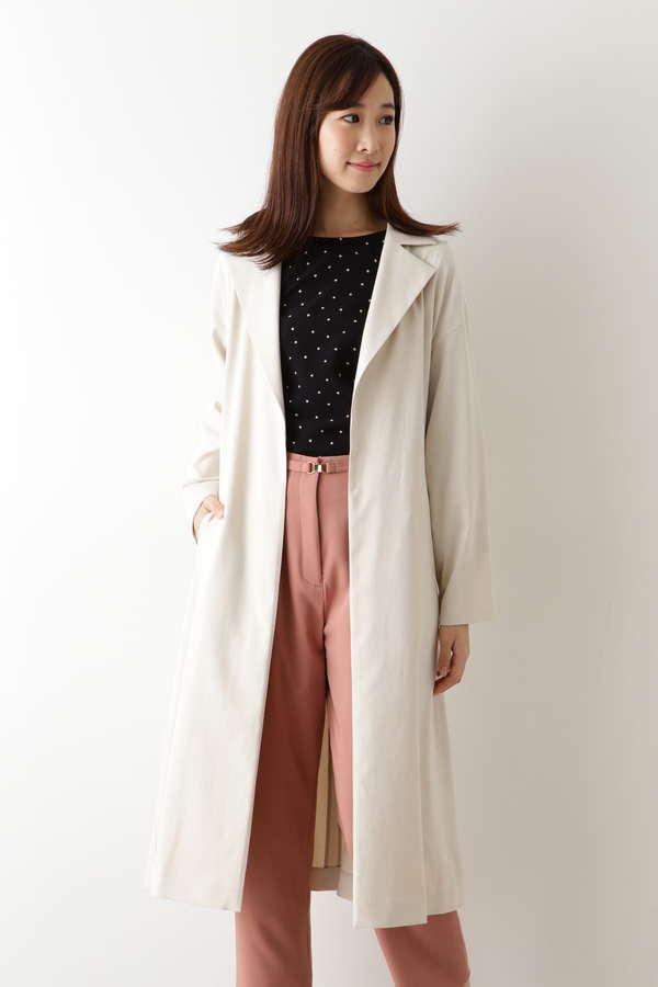 麻混オックスコート
