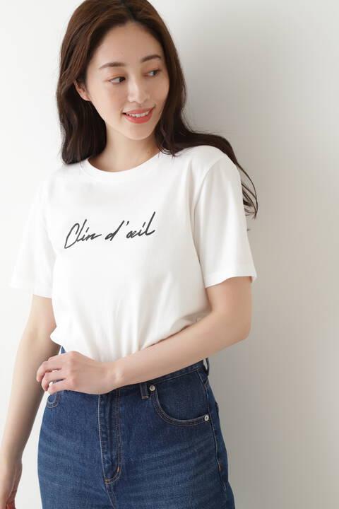 【先行予約5月中旬-下旬入荷予定】ウインク ロゴTシャツ半袖