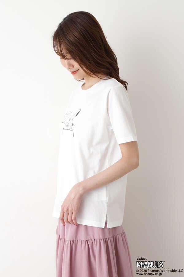 SNOOPYプリントTシャツ