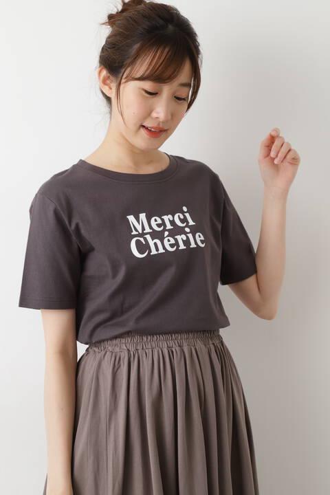 MERCIロゴTシャツ