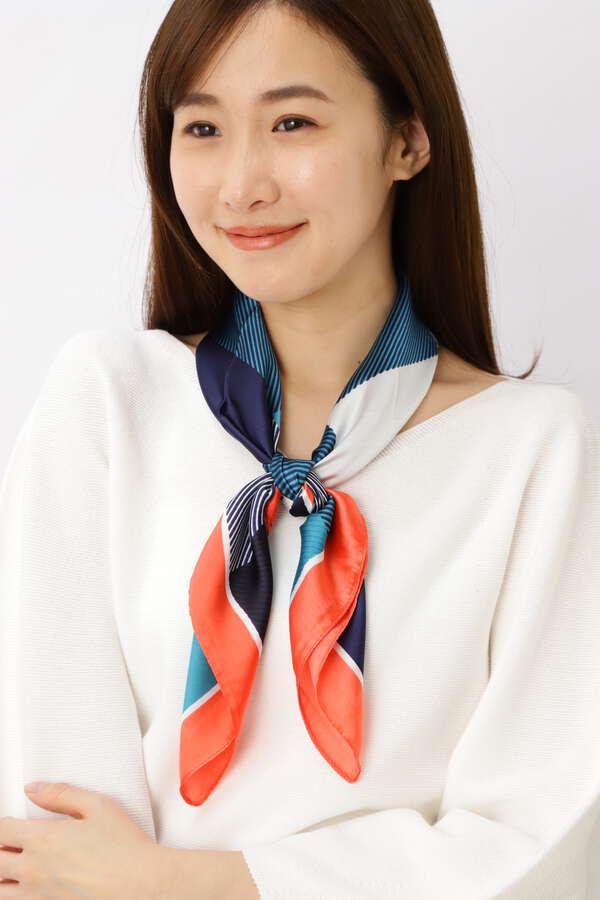 ジオメトタイルスカーフ