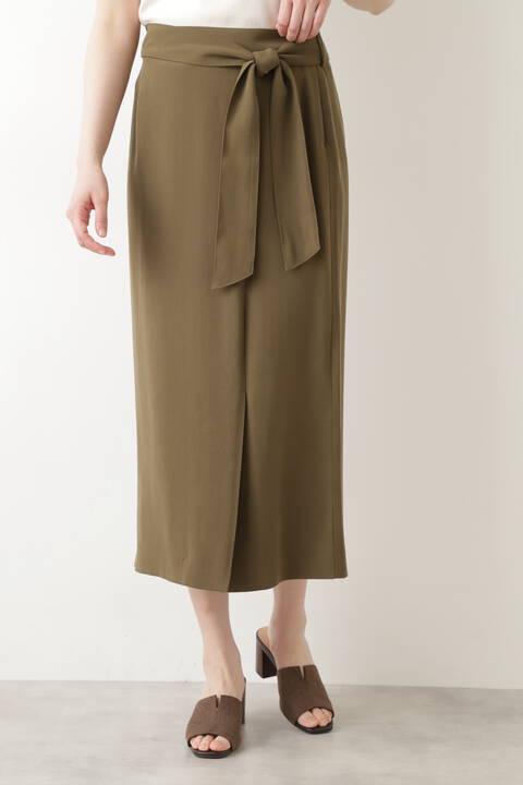 【先行予約6月下旬-7月上旬入荷予定】アシメラップスカート