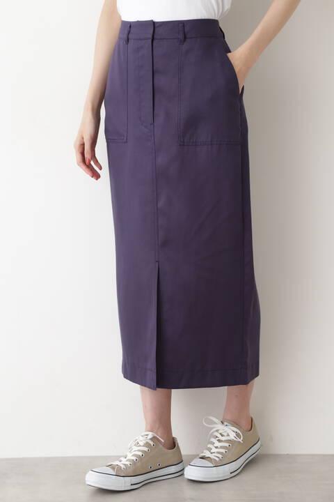 ベイカーストレートスカート
