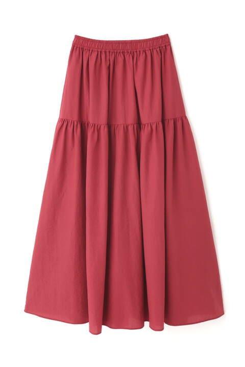 【先行予約8月上旬-8月中旬入荷予定】7カラーティアードスカート
