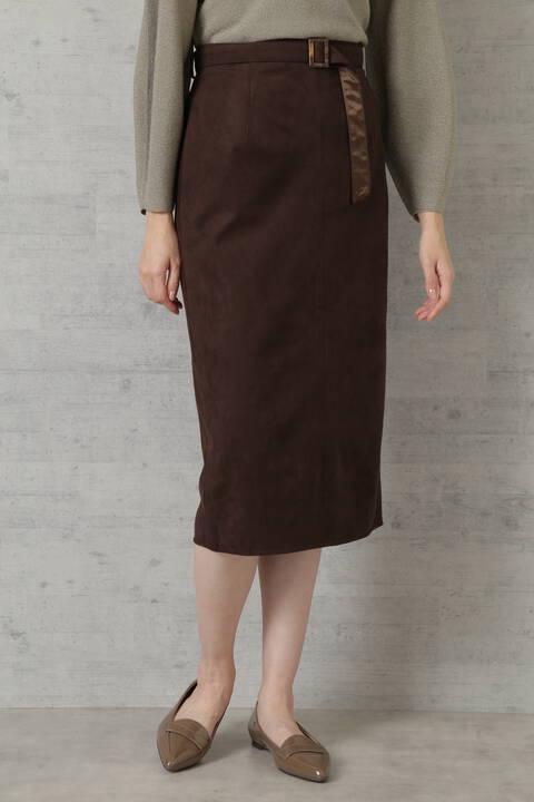 【先行予約9月上旬-中旬入荷予定】フェイクスエードスカート