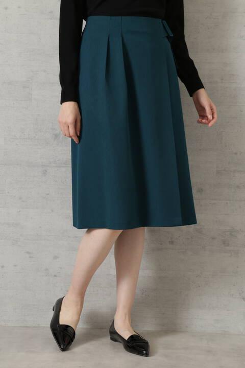 【先行予約9月上旬-中旬入荷予定】くるみバックルアシメスカート