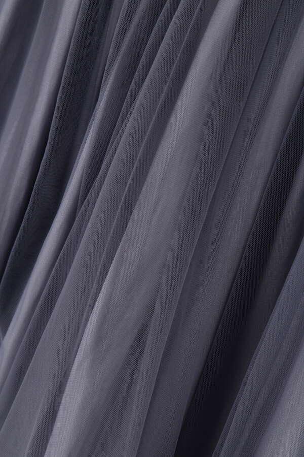 [2way]チュール×サテンリバーシブルスカート