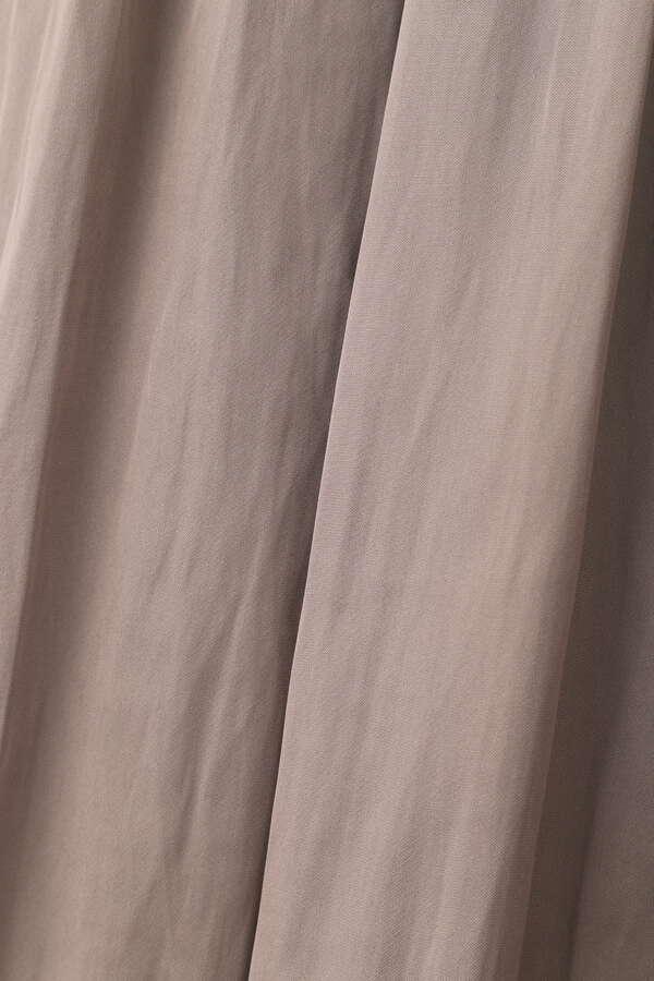 [nbb decor]マイクロサテンバックパールワンピース