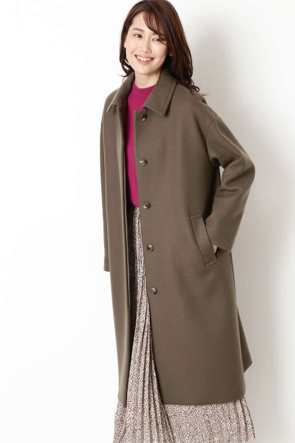FAbRICAステンカラーコート