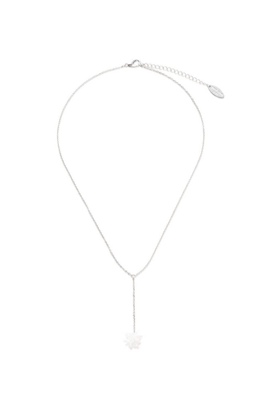 【公式/NATURAL BEAUTY BASIC】ワンポイントYネックレス/女性/ネックレス・ブレスレット/シルバー/サイズ:/