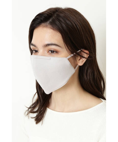 ポーチ付ファッションマスク