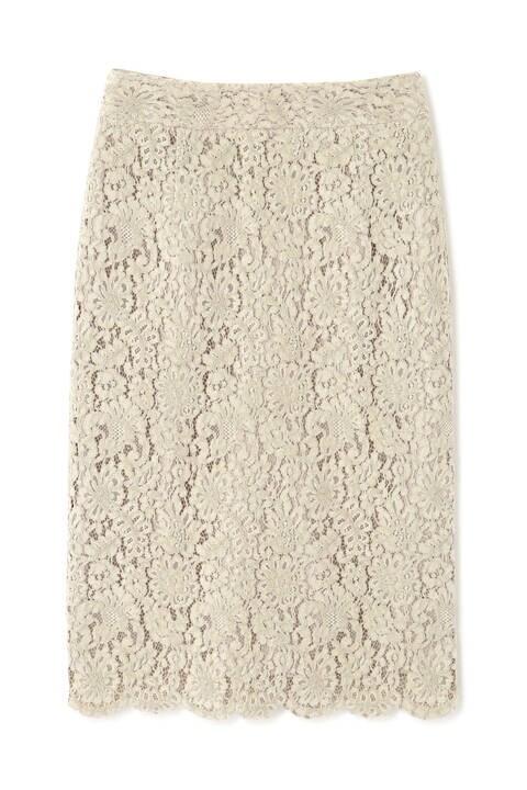 【先行予約12月中旬-下旬入荷予定】モールレースタイトスカート