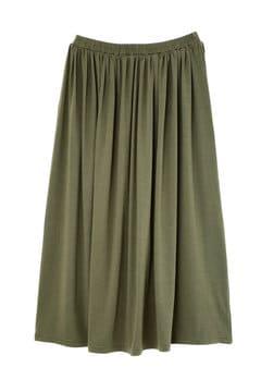 《BLUE》ベア天ギャザースカート