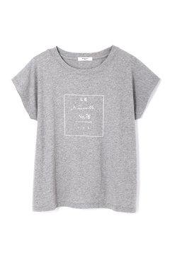 グリッタースクエアロゴTシャツ