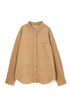 【先行予約_8月中旬入荷予定】細コーデュロイシャツ