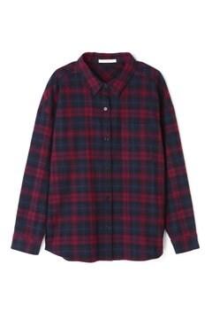 《BLUE》チェックネルシャツ