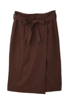 【先行予約_11月中旬入荷予定】ベルテッドラップスカート