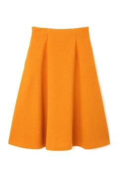 【VERYコラボ】ウールバスケットフレアスカート