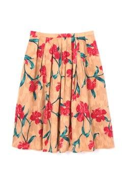 ジャガードプリントスカート