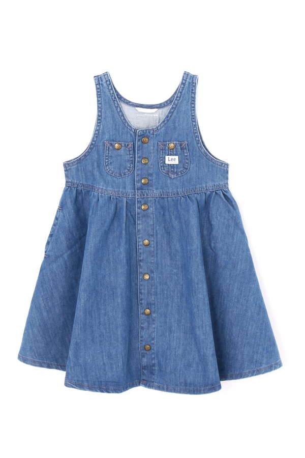 《KIDS》《Lee》フロントボタンドレス